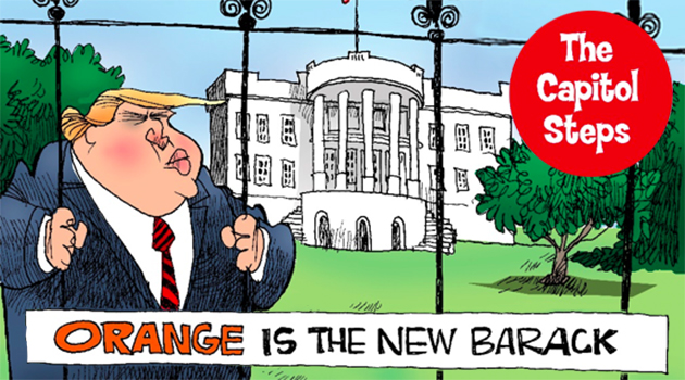 The Capitol Steps: Orange Is the New Barack