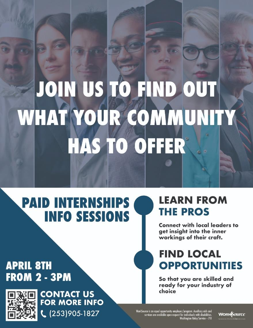 paid internships April