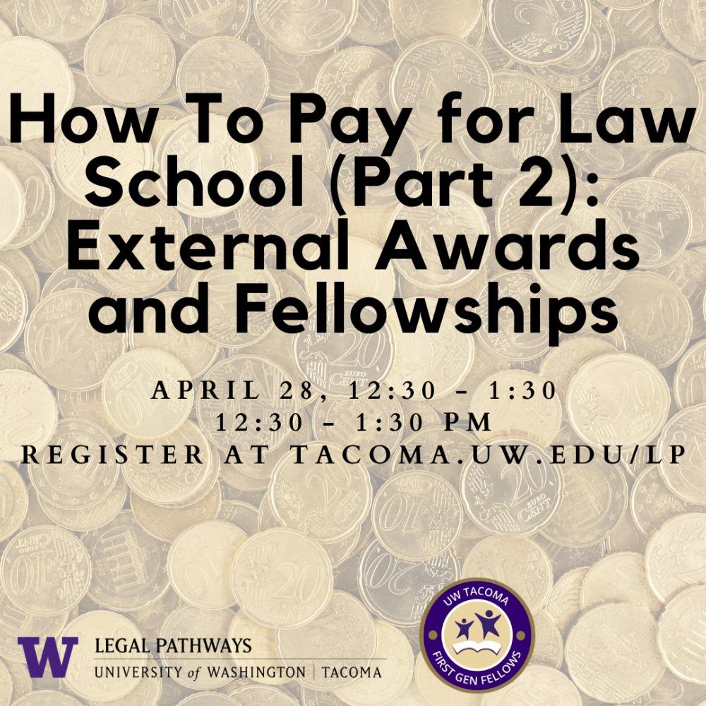 Paying for Law School (Part II) -- External Awards and Fellowships