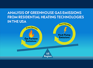 Webinar - Analysis of Greenhouse Gas Emissions from Residential Heating Technologies in the USA