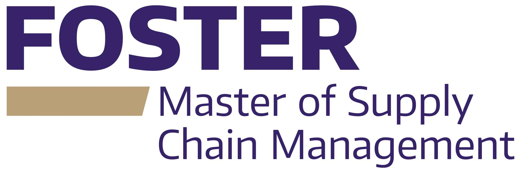 Online Information Session and Application Process - Master of Supply Chain Management