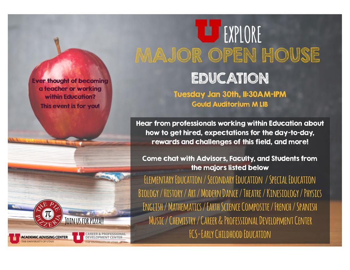 "UExplore Major Open House ""Education"""