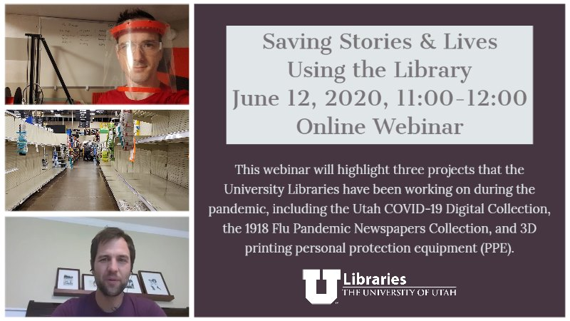 Saving Stories & Lives Using the Library