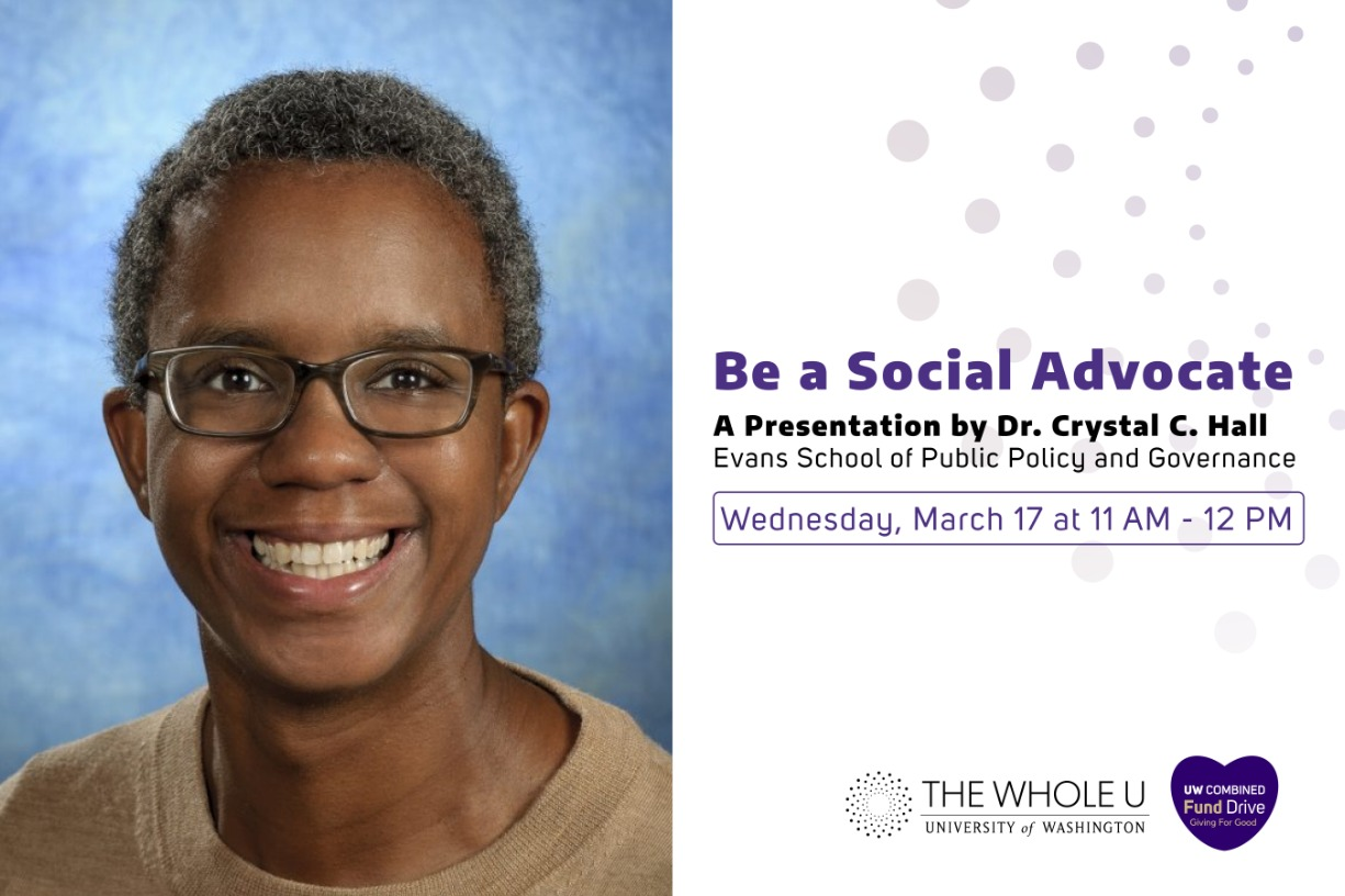 Becoming a Social Activist: A Conversation with Profs. Crystal Hall and Rachel Fyall, Evans School of Public Policy and Governance