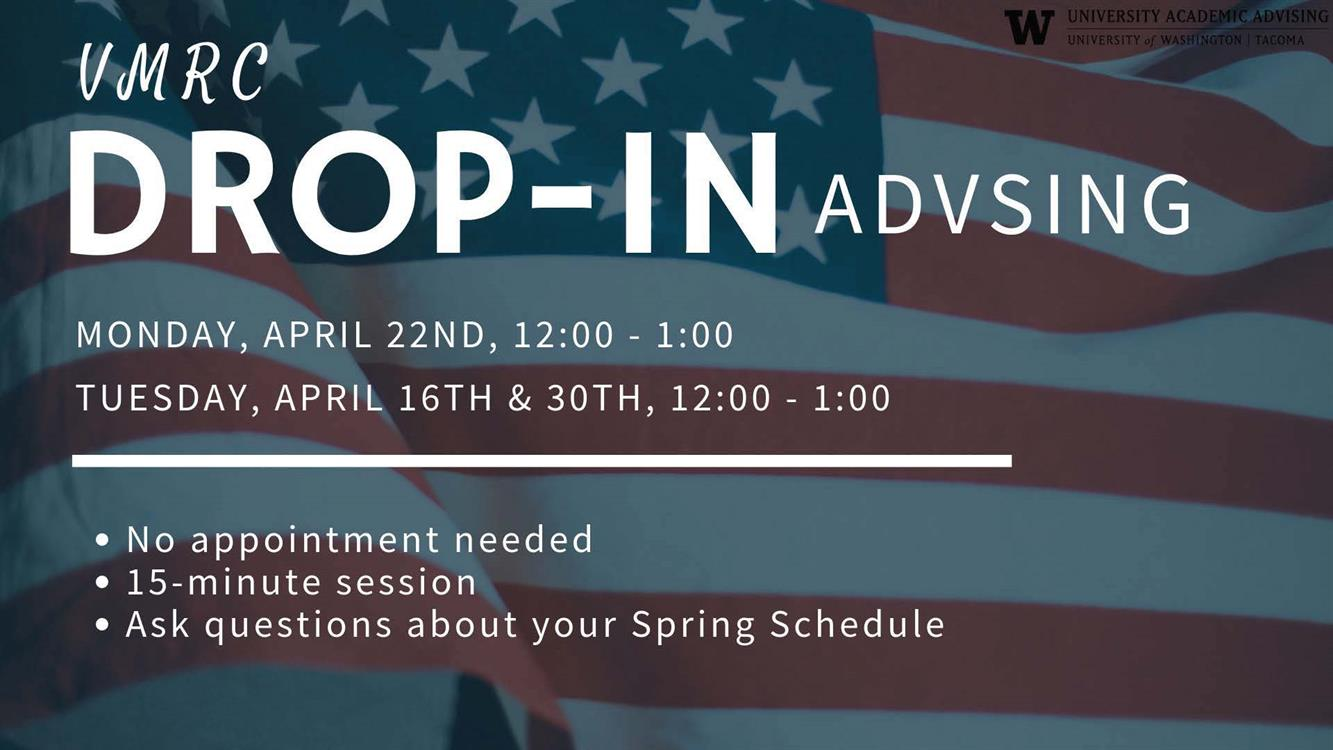Undergraduate Academic Advising Drop-In Session