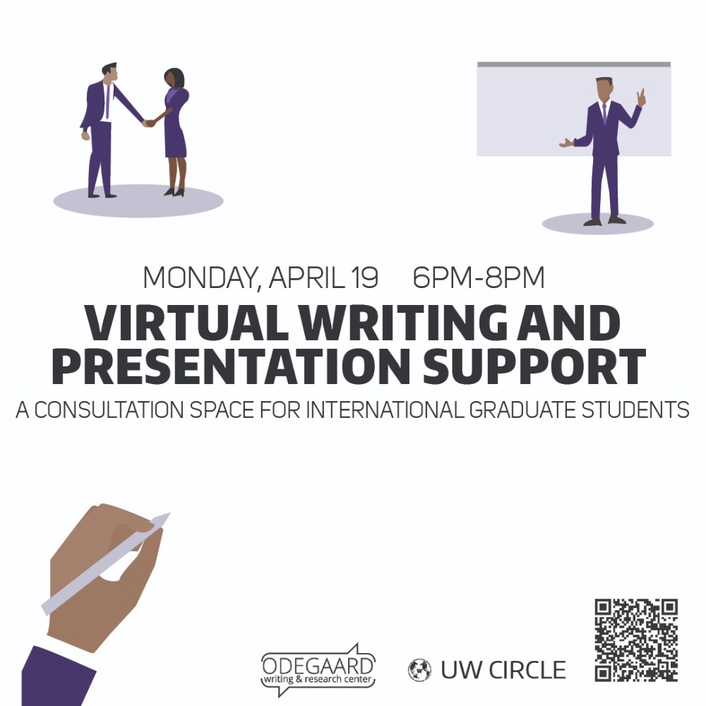 Virtual Writing and Presentation Support for International Graduate Students