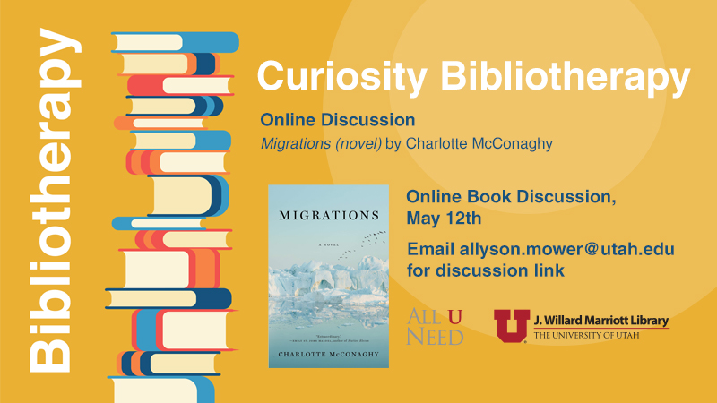 """Book Discussion - """"Migrations: A Novel"""" by Charlotte McConaghy"""