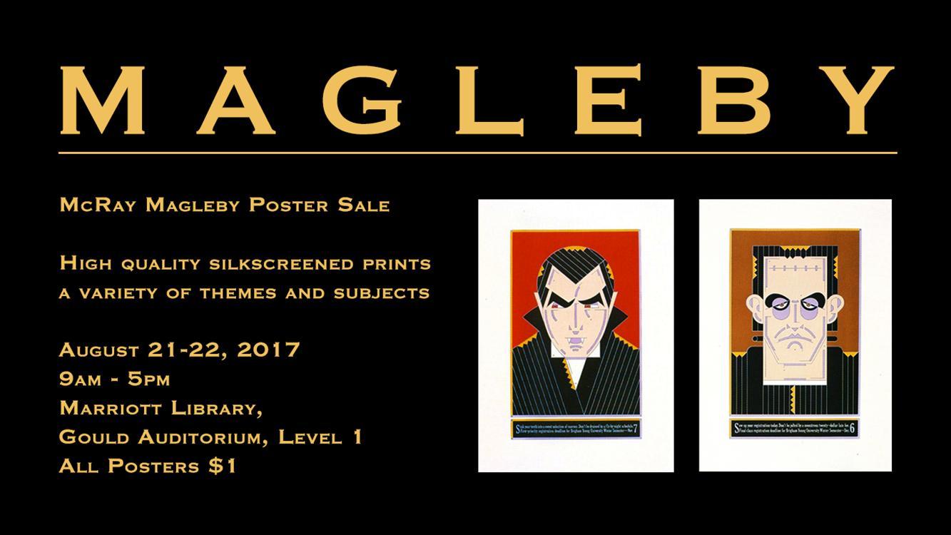 McRay Magleby Poster Sale