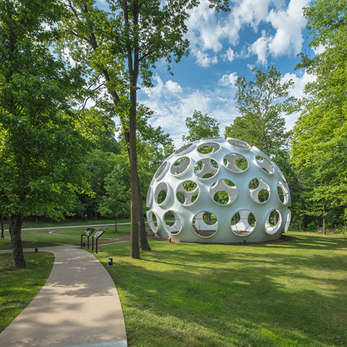 Crystal Bridges: Art and Nature in Harmony