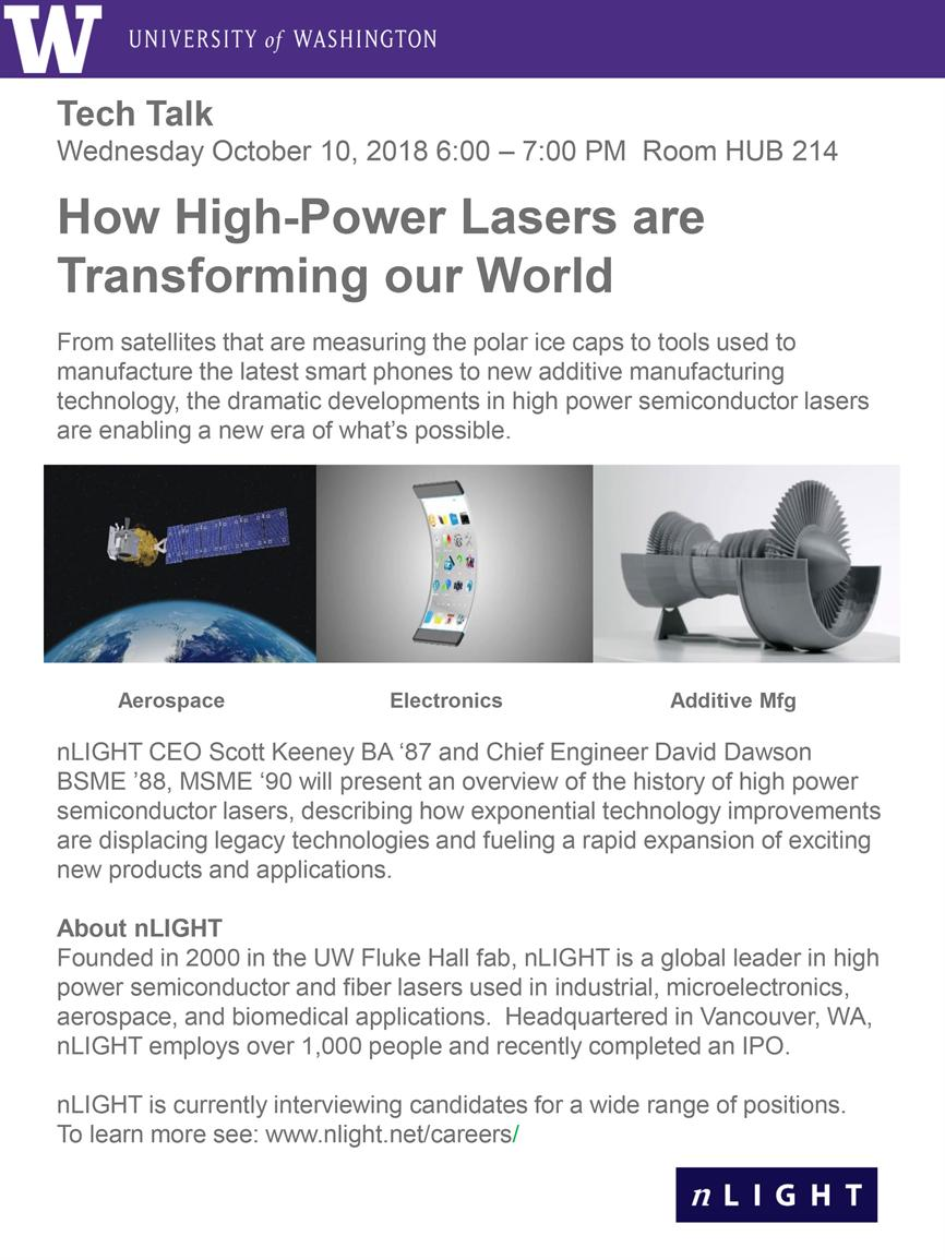 Tech Talk: How High-Power Lasers are Transforming our World