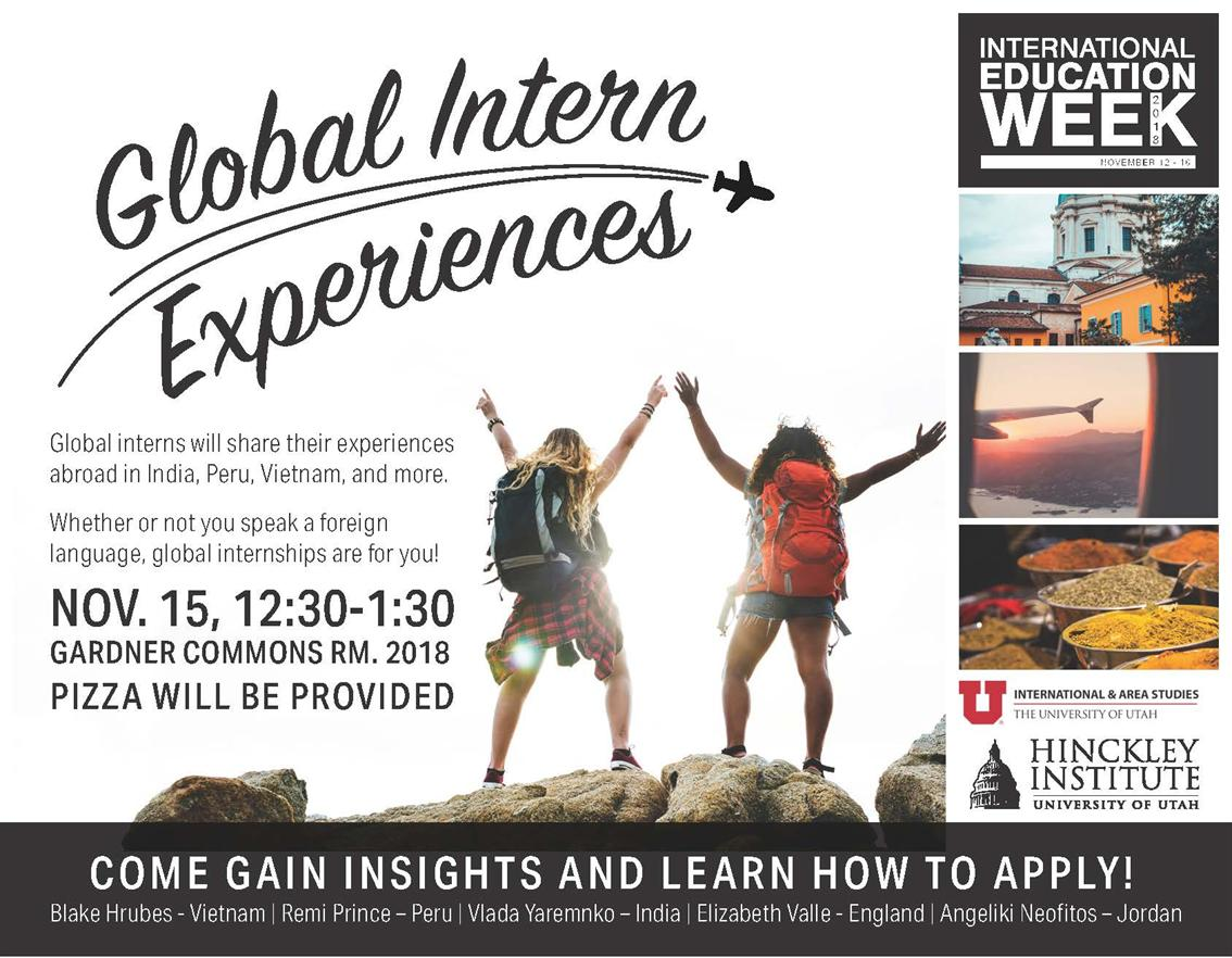 Global Intern Experiences