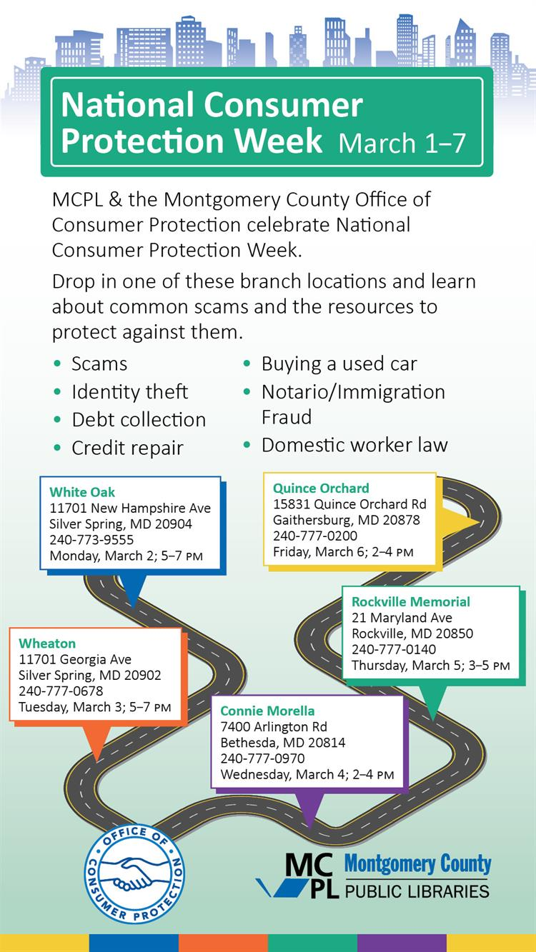 National Consumer Protection Week Roadshow