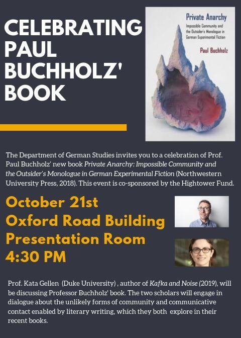 Celebrating Paul Buchholz' Book