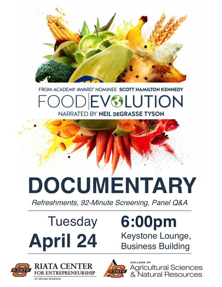Documentary Screening - Food Evolution