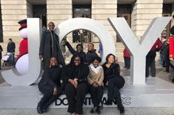 JAM concerts featuring Howard University's Women's Vocal Ensemble, SAASY