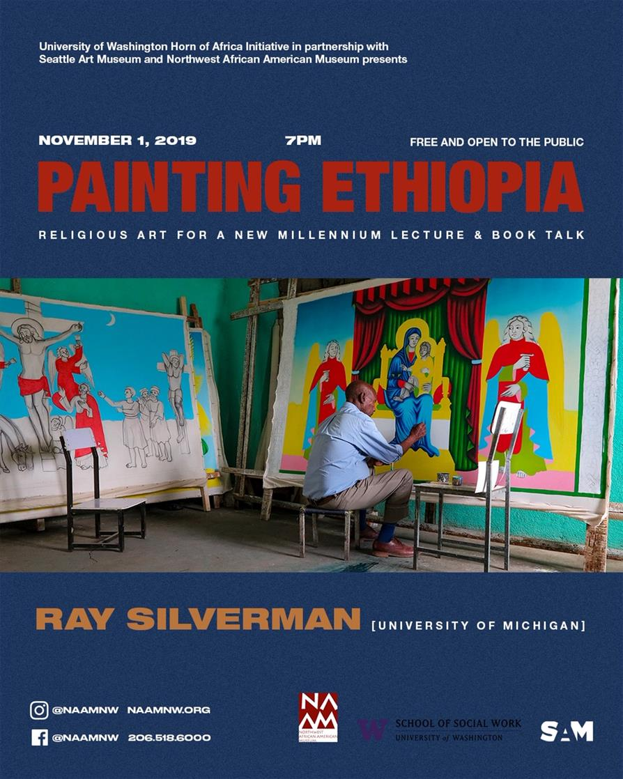 Horn of Africa Initiative: Ray Silverman on Painting Ethiopia - Religious Art for A New Millennium