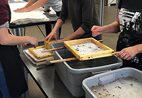 Drop-in & Print Session Papermaking: Make a Sheet, Take a Sheet