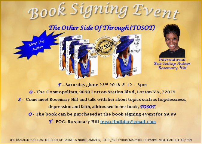 Virginia Book Signing Events Usa