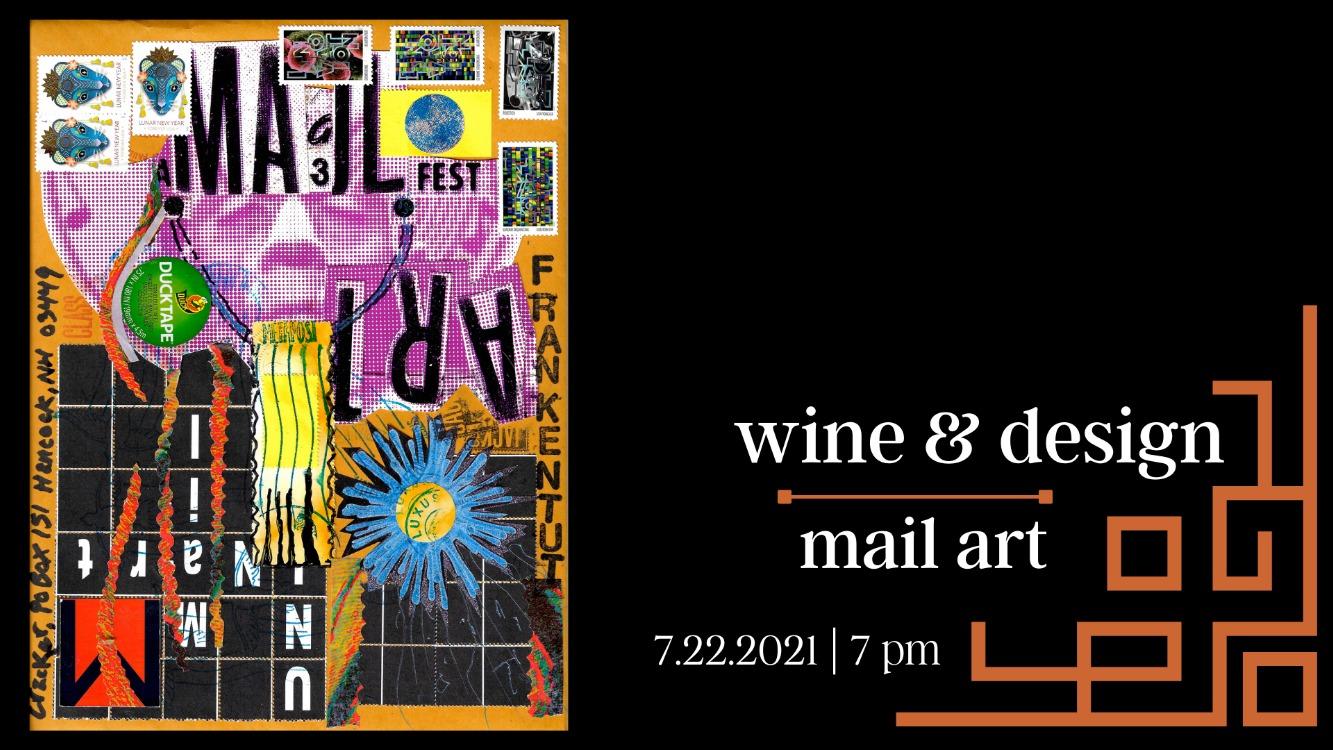 Wine & Design: Mail Art
