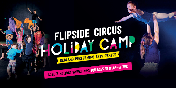 Redland City Event - Flipsiide Circus 1/2 day Program - Taste of Circus