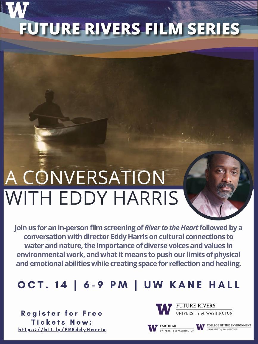 Future Rivers Presents: A Conversation with Eddy Harris