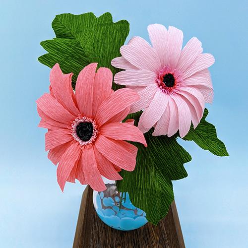 Crepe Paper Flowers: Gerbera Daisies