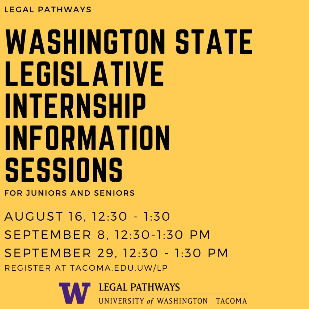 Legislative Internship Information Session