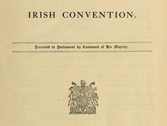 The Irish Convention, 1917-1918: A Centenary Symposium