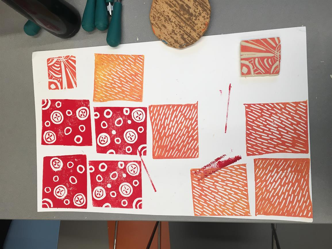 Exploring Art + Technology Labs: Patterns, Prints & Place