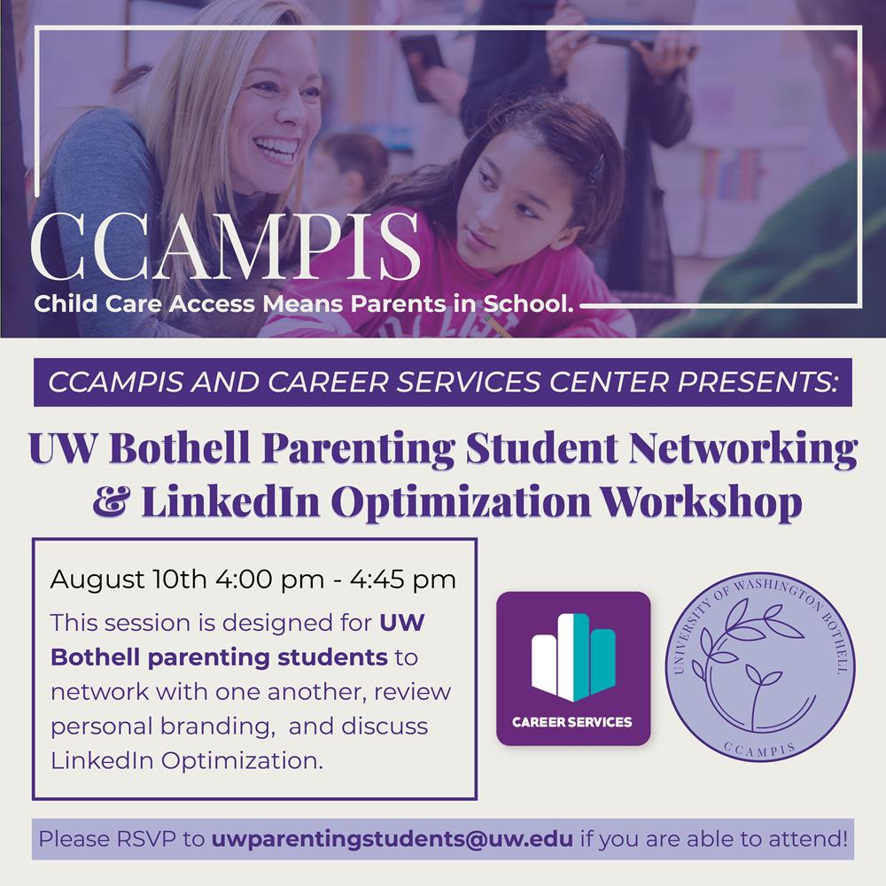Parenting Students Networking and LinkedIn Optimization