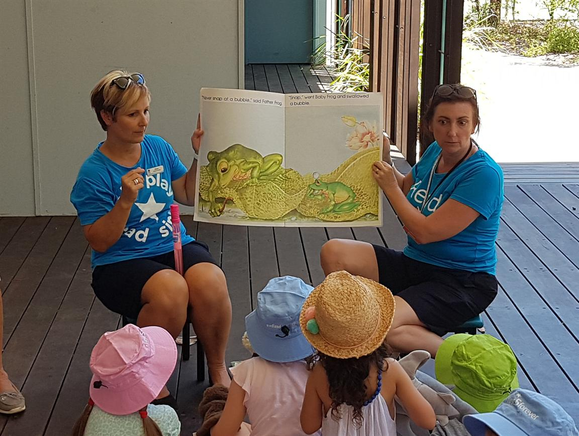 Redland City Event - First 5 Forever Story Time