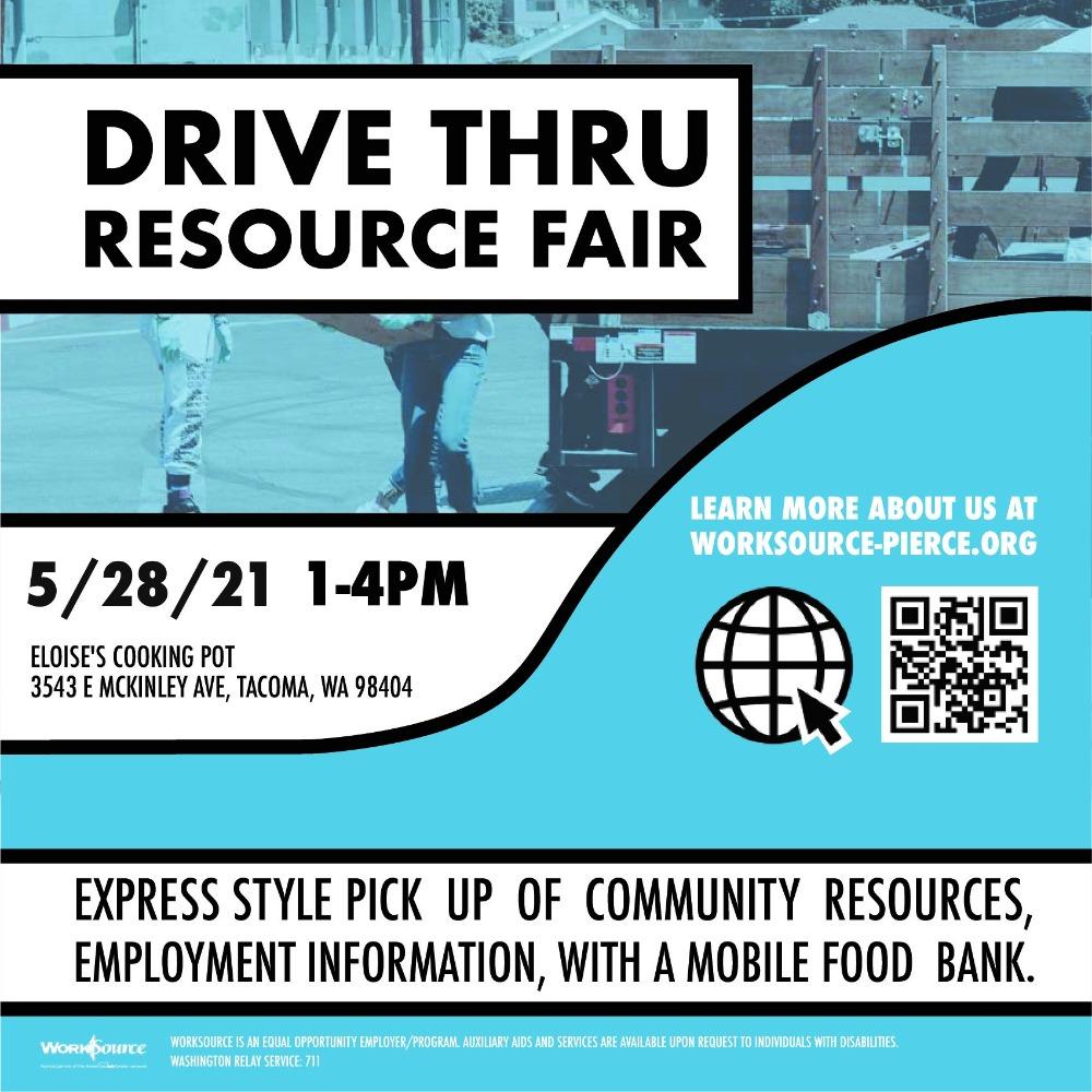 Drive-through resource fair