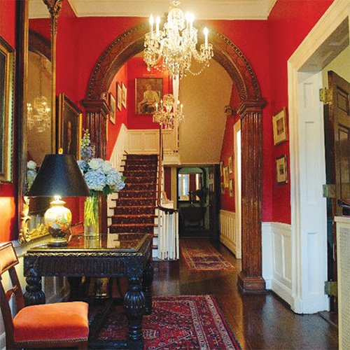 Inside the Historic Arts Club of Washington