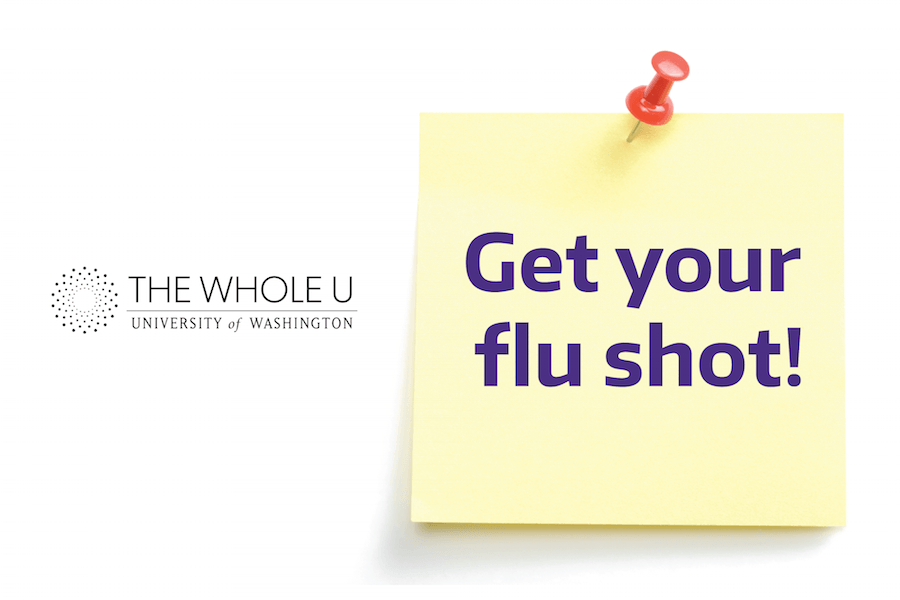 Flu shot clinic at UW Bothell
