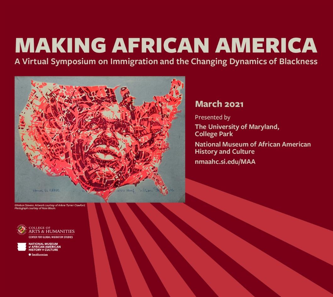 Making African America: A Symposium on Immigration and the Changing Dynamics of Blackness | Artistic Encounters: Literature, Music, and Art History