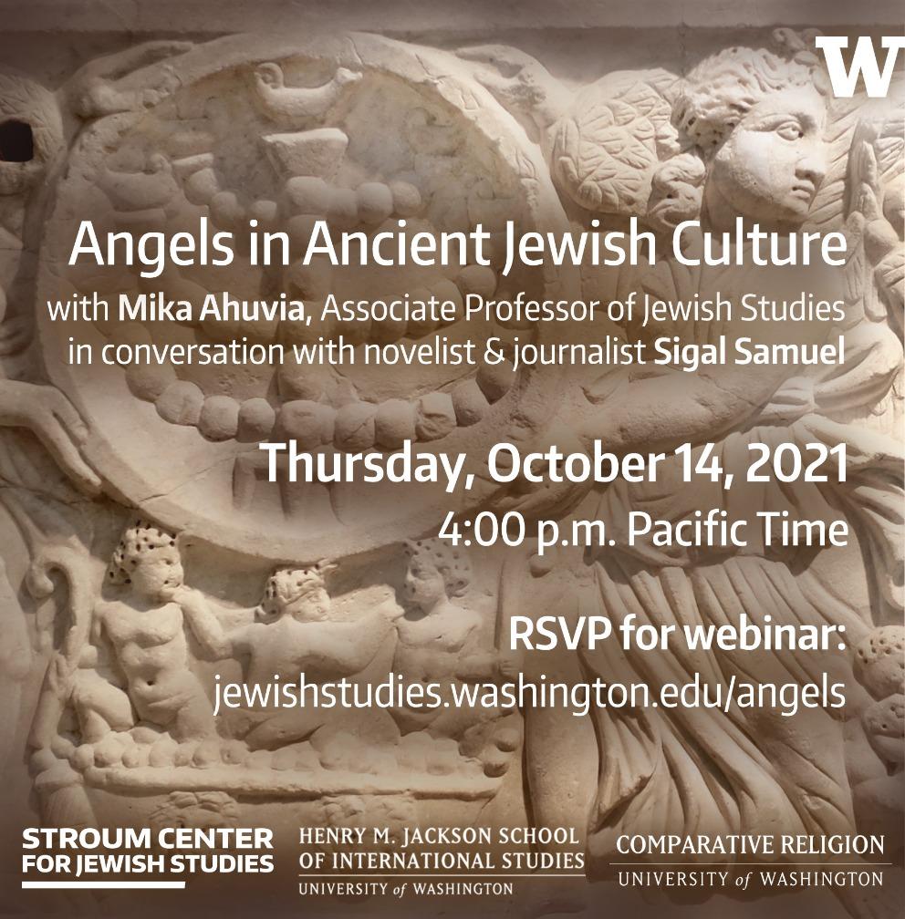 Angels in Ancient Jewish Culture — Mika Ahuvia