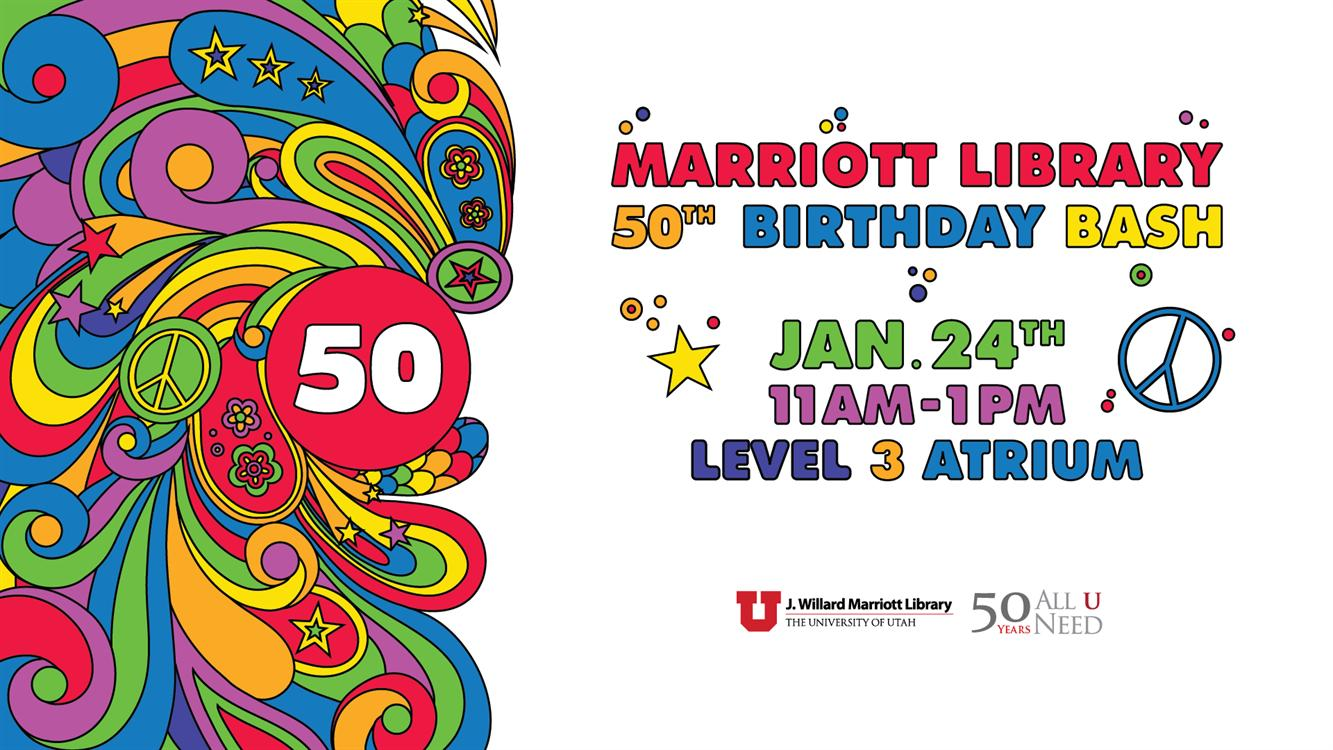 Marriott Library Birthday Bash
