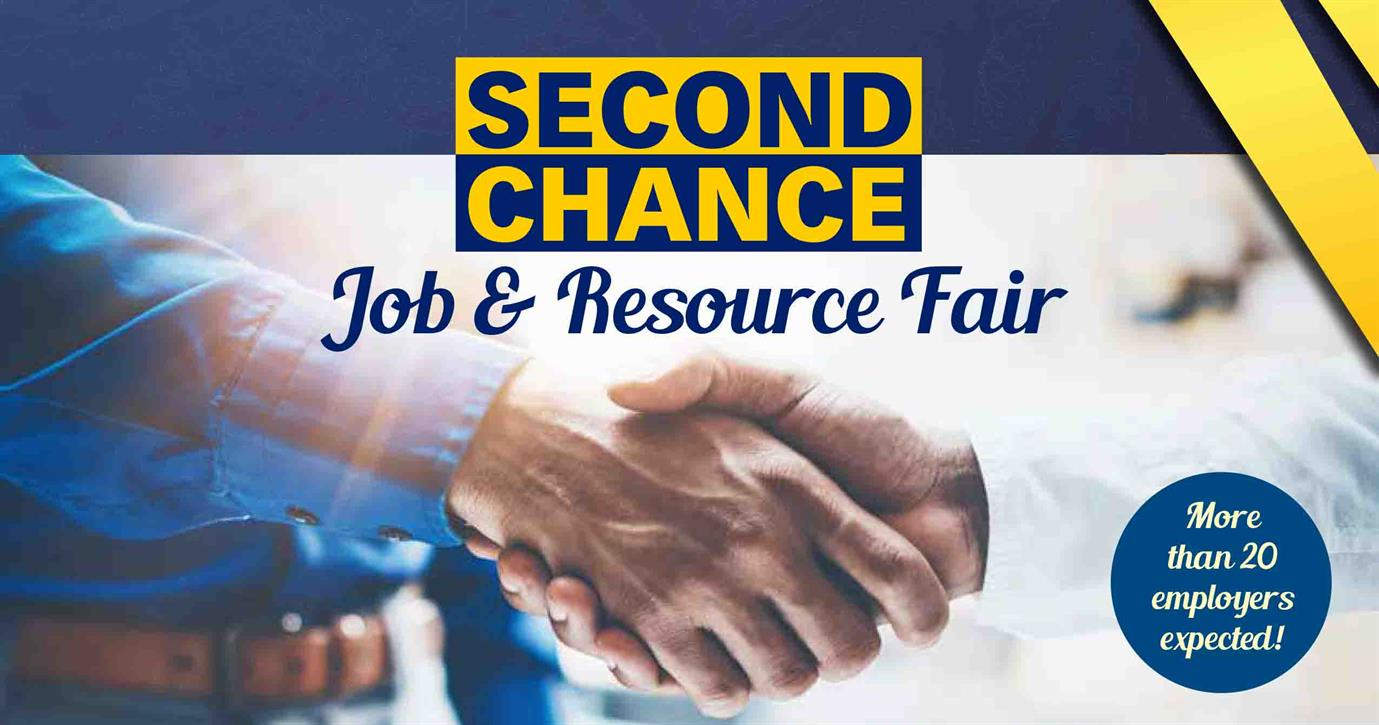 Second Chance Job and Resource Fair