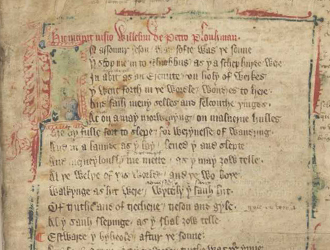 Beyond the Book of Kells: Piers Plowman