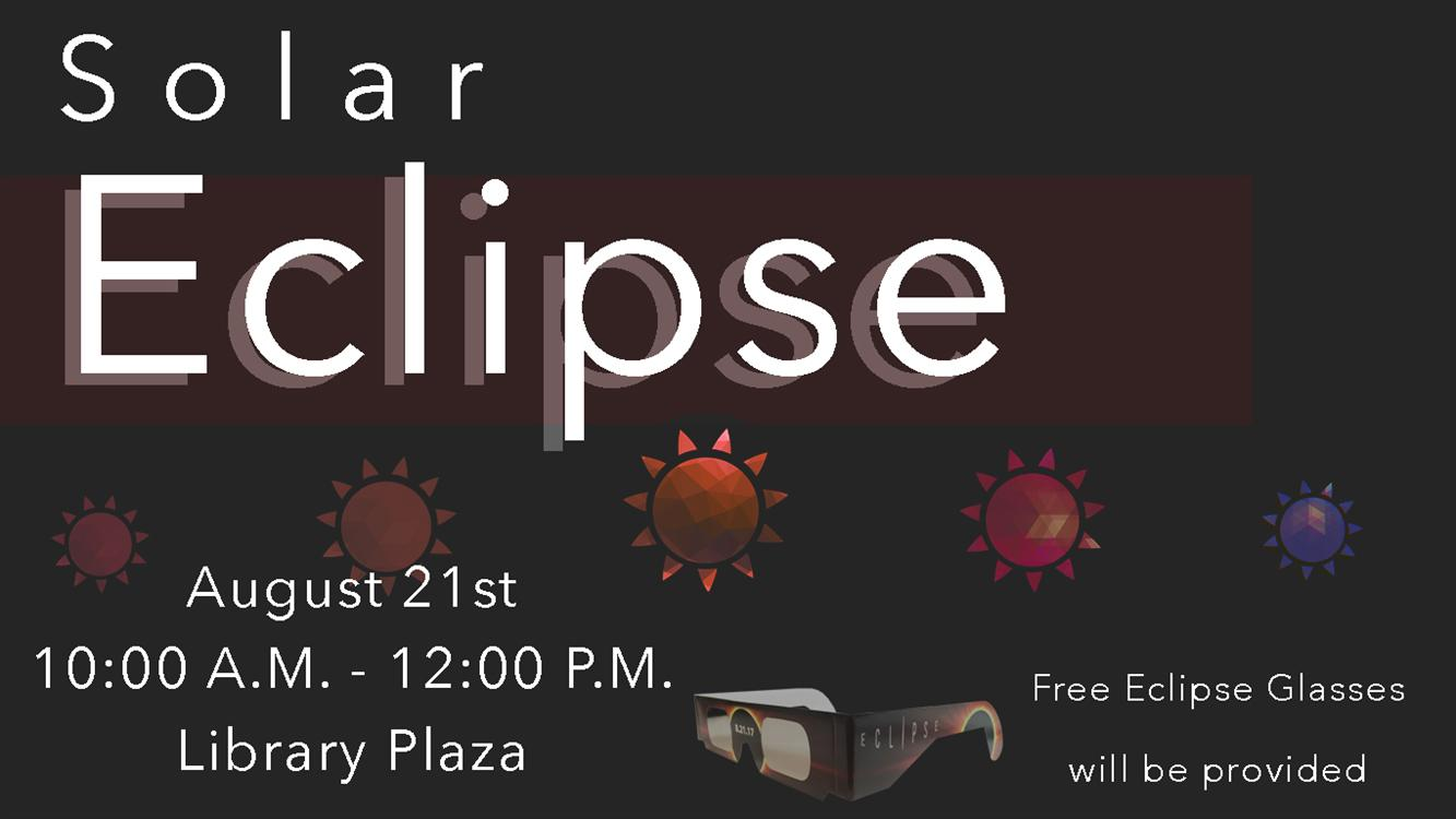Solar Eclipse Viewing - Free Glasses!