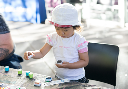 Drop-In Preschool Art
