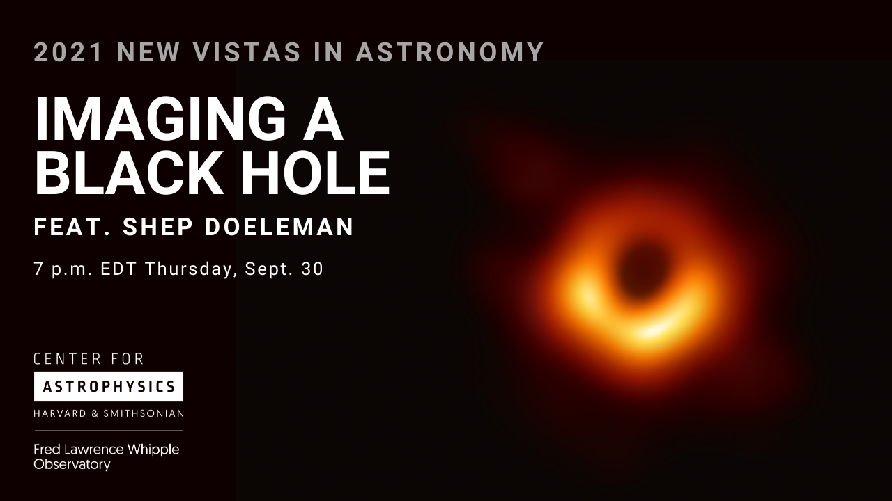 New Vistas in Astronomy: Imaging a Black Hole