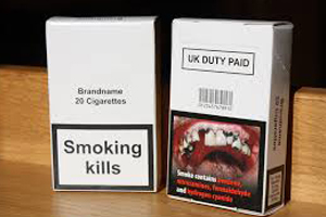Plain tobacco packaging in Australia and Ireland