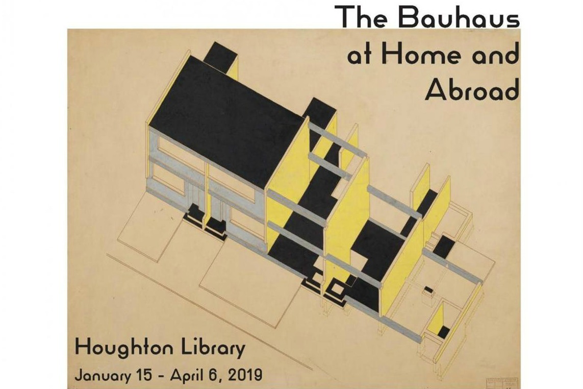 The Bauhaus at Home and Abroad: Selections from the papers of Walter Gropius, Lyonel Feininger, and Andor Weininger