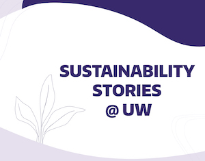 Sustainability Stories: Studying waste sorting at UW & Ditching the diapers for environmental justice