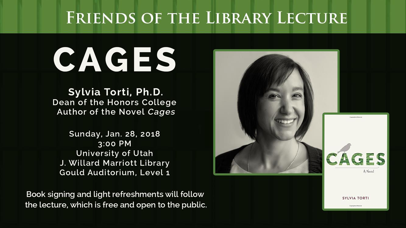 Friends of the Library Lecture - Sylvia Torti