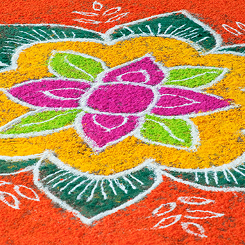 Sunday FUNday: Rangoli