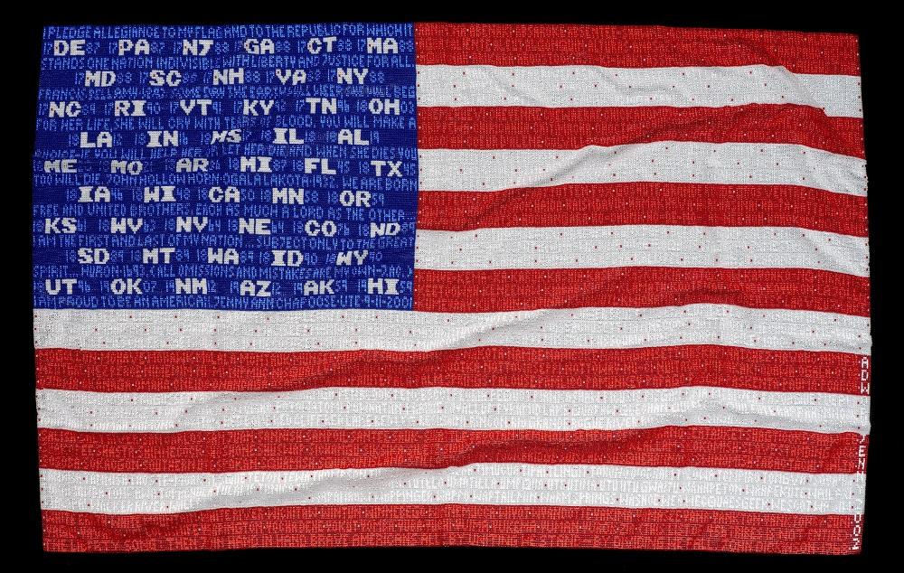 Honoring the American Flag through Native Art