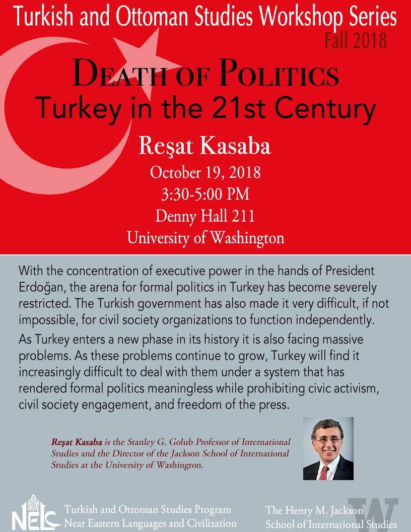 Death of Politics: Turkey in the 21st Century
