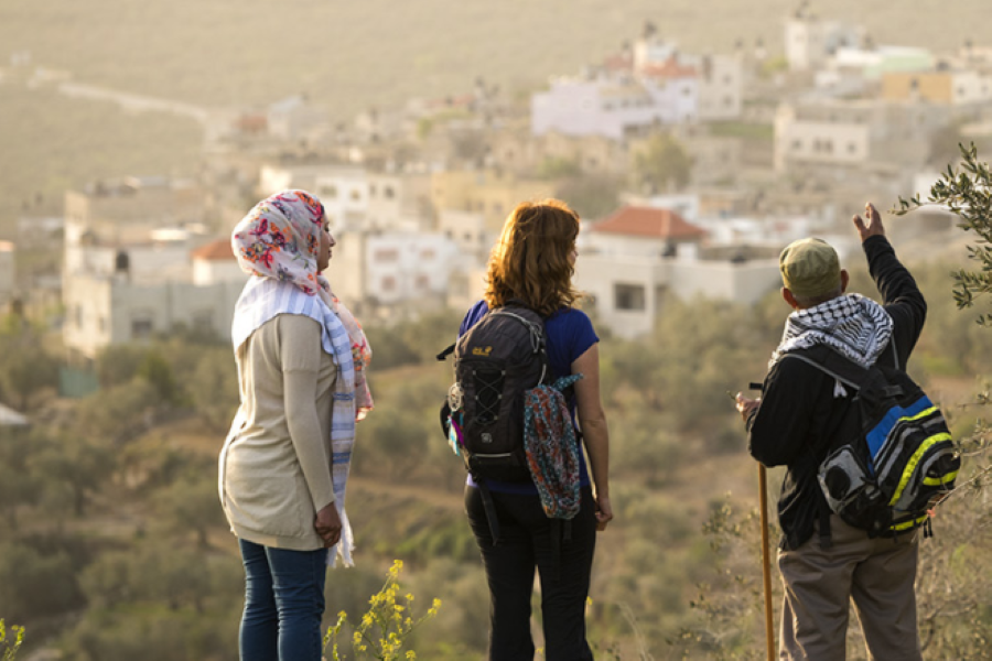 From Urfa to Hebron: Aligning People and their Governments along the Legendary Path of Abraham